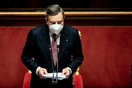 """Draghi: """"Ricostruire il Paese, l'unità è un dovere"""""""