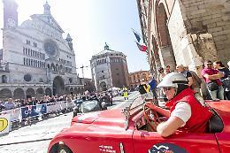 La 1000 Miglia torna a sfilare a Cremona