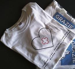 Una maglietta speciale per l'ospedale di Cremona