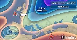 Cambia tutto da venerdì, tornano pioggia, neve e clima più freddo