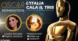 Italia corre agli Oscar con Pausini e Pinocchio