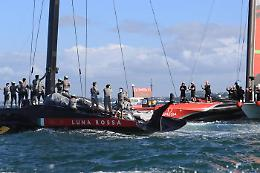 Luna Rossa, ko a testa alta: New Zealand vince il trofeo