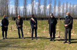 VIDEO Dal Bosco della memoria l'omaggio alle vittime cremonesi