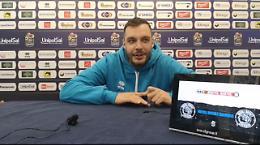 Vanoli, coach Galbiati presenta la sfida con Treviso