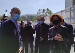 VIDEO Hub Crema, inaugurazione con Bertolaso
