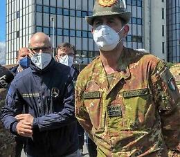 Il generale Figliuolo e Curcio domani in Lombardia