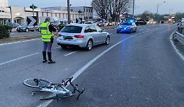 Travolto ciclista cremonese, trasportato a Parma in elisoccorso