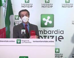Covid: Fontana, spero da 12 aprile si dica basta limitazioni