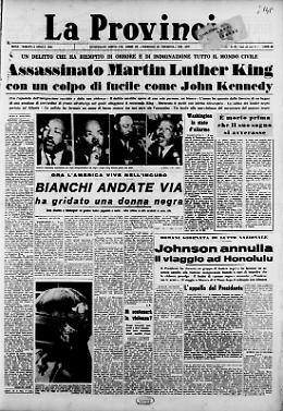 Assassinato Martin Luther King