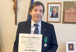 Il provveditore Molinari nominato Cavaliere