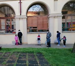 La gallery del primo giorno in aula nelle scuole infanzia a Cremona, Crema e Casalmaggiore