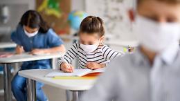 Marzo: contagiato l'1,33% degli studenti
