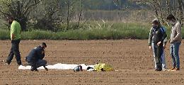 Tragedia del Migliaro, autopsia e perizia sul paracadute