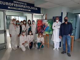 L'arte e la cura: il dipinto di Valcarenghi in viaggio dentro l'ospedale