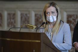 "Recovery Plan, Meloni ""Parlamento esautorato"""