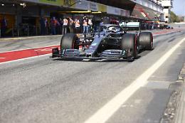 Hamilton il più veloce nelle seconde libere in Portogallo