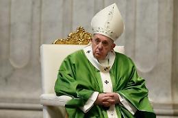 """Papa Francesco """"Maratona di preghiera per implorare fine pandemia"""""""