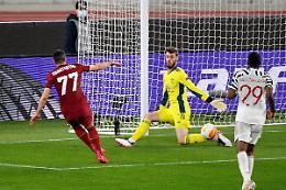 Niente impresa all'Olimpico, Roma-Manchester United 3-2