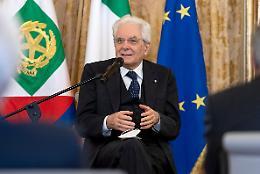 """Terrorismo: Mattarella """"Bersaglio era giovane democrazia parlamentare"""""""