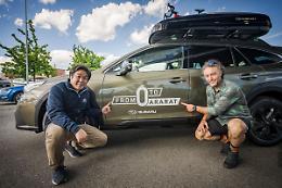 "Subaru Outback accompagnera' Nico Valsesia in ""From 0 to Ararat"""