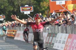 Schmid vince 11^ tappa al Giro, Bernal resta in rosa