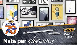La penna BIC Cristal compie 70 anni e punta sulla sostenibilità