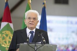 """Mattarella """"Scontri tra magistrati minano prestigio della giustizia"""""""