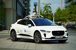 Jaguar I-Pace e Google misurano la qualita' dell'aria a Dublino