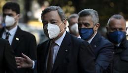 """Draghi """"Si percepisce entusiasmo e voglia di sprigionare energie"""""""