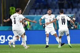 Euro2020, l'Italia batte 3-0 la Turchia nella gara inaugurale