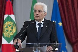 """Mattarella """"Impegno per eliminare piaga del lavoro minorile"""""""
