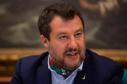 """Salvini """"Finché Draghi andrà avanti noi ci siamo"""""""