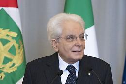 """Carceri, Mattarella """"Dalla Polizia Penitenziaria generoso impegno"""""""