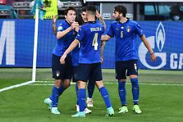 L'Italia soffre ma batte 2-1 l'Austria ai supplementari