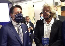 """Grillo dice no a Conte """"Eleggiamo il comitato direttivo su Rousseau"""""""
