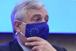 """Tajani """"Partito unico del centrodestra nel 2023"""""""