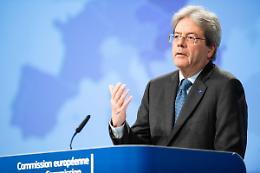 """Gentiloni """"Giustizia decisiva per mettere l'Italia al passo con l'Ue"""""""