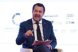 """Giustizia, Salvini """"Riforma primo passo ma quella vera sarà referendum"""""""