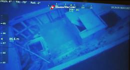 Robot individua relitto naufragio Lampedusa,trovati 9 cadaveri migranti