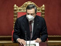 """Draghi """"Orgoglio per il via libera al Pnrr, ora spendere bene"""""""