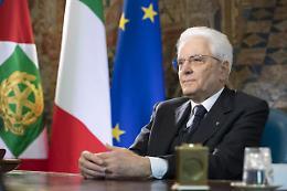 """Mattarella """"La pace e' base e anima dell'Unione Europea"""""""