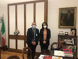 Salutequita' ricevuta da presidente Commissione Igiene e Sanita' Senato