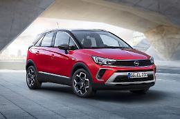 Opel Crossland, compattezza e versatilita'