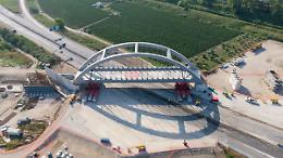 Webuild completa posizionamento dei 3 ponti sulla linea Napoli-Cancello