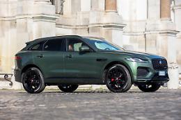 Jaguar, due edizioni speciali F-Pace per l'Italia