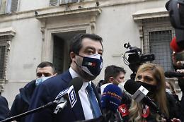 """Giustizia, Salvini """"Nel Pd c'è chi non vuole dare parola ai cittadini"""""""
