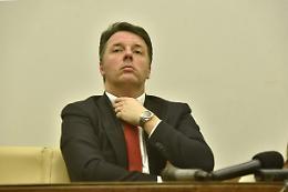"""Renzi """"Sul reddito di cittadinanza il M5S ha già mollato"""""""