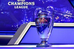 Inter in Champions col Real, Juve con Chelsea, Milan trova Liverpool