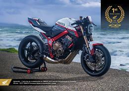 Honda, a dealer portoghese contest per migliore CB650R custom