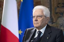"""Mattarella """"In Ue serve una politica estera e di sicurezza comune"""""""